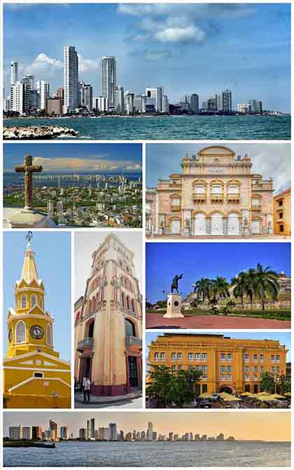 There are many places to visit in Cartagena